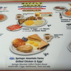Photo taken at Waffle House by Mario S. on 1/26/2013