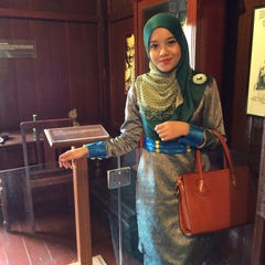 Photo taken at P. Ramlee's House by leyna hasyyatie on 8/30/2015