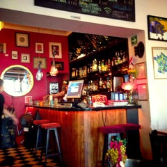 Photo taken at Franca Bistro by Mezcal Los Siete Misterios on 3/10/2013