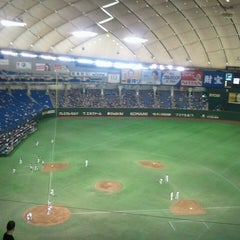 Photo taken at 東京ドーム (Tokyo Dome) by pirlo2121 on 7/9/2013