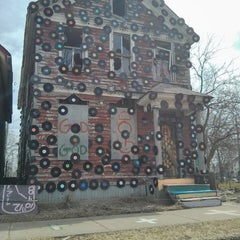 Photo taken at The Heidelberg Project by Dicky P. on 4/7/2013