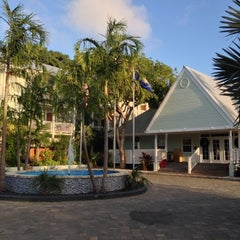 Photo taken at Southernmost Hotel in the USA by Alex on 12/9/2012