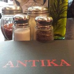 Photo taken at Antika Restaurant & Pizzeria by LaTanya B. on 4/29/2014