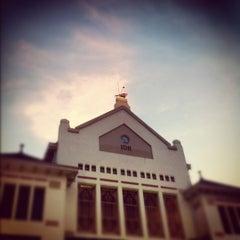 Photo taken at Stasiun Cirebon Kejaksan by Kemal H. on 9/23/2012