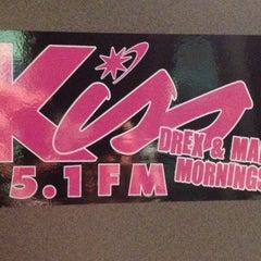 Photo taken at Kiss 95.1 Studios by Maney K. on 7/17/2013