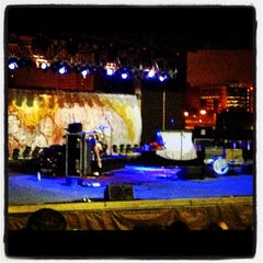 Photo taken at Mud Island Amphitheatre by Crystal R. on 10/13/2012