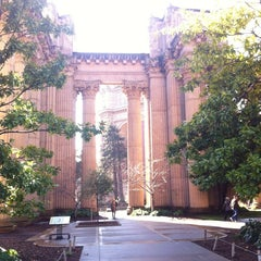 Photo taken at Palace of Fine Arts by Danny S. on 2/7/2013