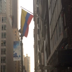 Photo taken at Colombian Consulate by Kenia S. on 5/21/2014
