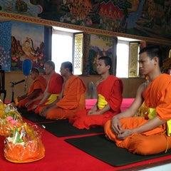 Photo taken at วัดนครป่าหมาก (Wat Nakorn Pa Mak) by Baby Glock on 7/19/2013
