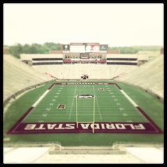 Photo taken at Doak Campbell Stadium by Swamp Head on 4/11/2013