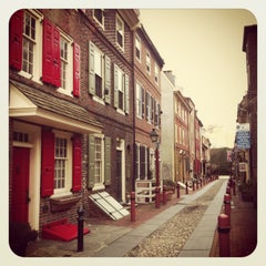 Photo taken at Elfreth's Alley Museum by Elena P. on 3/13/2013