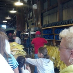 Photo taken at Queen Mine Tours by Rebecca R. on 5/26/2013