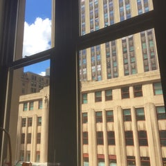 Photo taken at WeWork Empire State by Angela on 8/13/2015