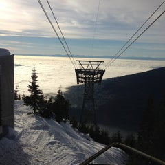 Photo taken at Grouse Mountain by SC K. on 1/20/2013