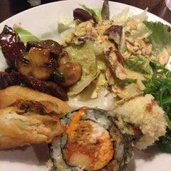 Photo taken at Kiku Japanese Steak & Sushi by Jade K. on 4/21/2013