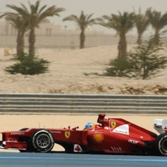 Photo taken at Bahrain International Circuit by Khalid A. on 4/20/2013