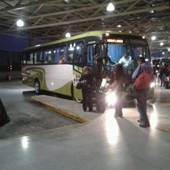 Photo taken at Terminal de Buses San Borja by Francisco C. on 10/18/2012