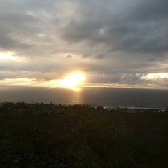 Photo taken at Scenic Point by Beca in Kona on 1/30/2013