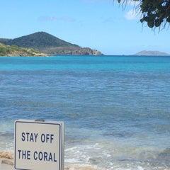 Photo taken at Sapphire Beach Marina & Resort Saint Thomas (Virgin Islands U.S.) by Gayle K. on 3/22/2015