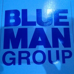 Photo taken at Blue Man Group at the Briar Street Theatre by Adolfo V. on 11/25/2012