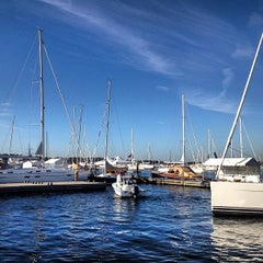 Photo taken at Newport Yachting Center by 12 Meter Charters on 9/17/2012