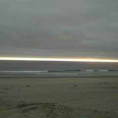 Photo taken at Pacific City, OR by Nick S. on 6/16/2013