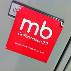Photo taken at MinuteBuzz by Benjamin F. on 10/2/2012