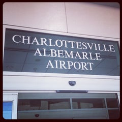 Photo taken at Charlottesville-Albemarle Airport (CHO) by Joy D. on 10/12/2012