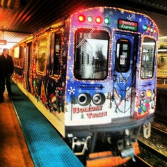 Photo taken at CTA - Howard by Katie L. on 12/15/2012
