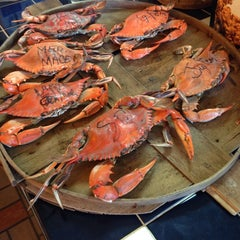 Photo taken at Shoreline Seafood by Monet S. on 7/4/2014