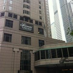 Photo taken at Fairmont Chicago by Kristin B. on 10/23/2012