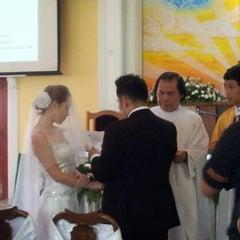 Photo taken at Holy Trinity Church by Cornelia W. on 11/3/2012