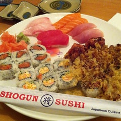 Photo taken at Shogun Sushi by John S. on 12/15/2012