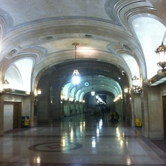 Photo taken at Chicago City Hall by Bill D. on 1/18/2013