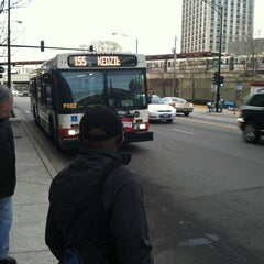 Photo taken at CTA Bus 155 by Bill D. on 5/5/2013