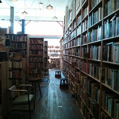 Photo taken at Borderlands Books by Linda G. on 7/20/2013