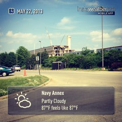 Photo taken at Navy Annex by VICK J. on 5/22/2013
