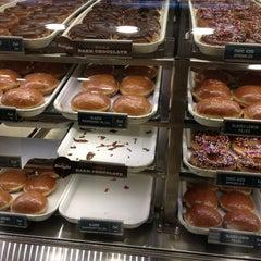 Photo taken at Krispy Kreme Doughnuts by Rick L. on 1/28/2013