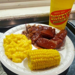 Photo taken at Dickey's Barbecue Pit by Andre L. on 1/27/2013