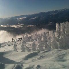 Photo taken at Whistler Mtn. Peak by Craig C. on 12/31/2012