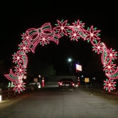 Photo taken at Cuero's Christmas in the Park by Tim P. on 12/23/2012