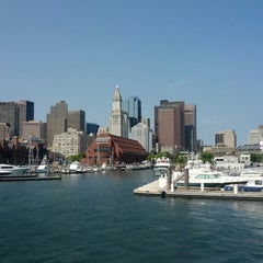Photo taken at Boston Harbor Cruises by Adí on 7/13/2014
