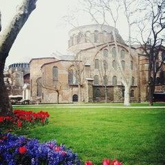 Photo taken at Topkapı Sarayı by Tanya E. on 4/1/2013