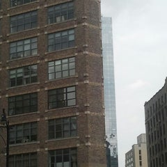 Photo taken at One Hudson Square by Joel P. on 9/26/2012