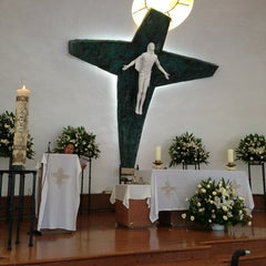 Photo taken at Parroquia Sta. María Madre de la Misericordia by Ninfa P. on 5/5/2013