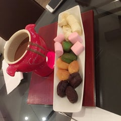 Photo taken at Maya Le Chocolaterie by Mariam M. on 2/1/2015