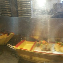 Photo taken at Floating Sushi Boat by Ben C. on 9/18/2015