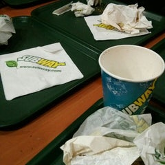 Photo taken at Subway by Melina R. on 9/3/2014