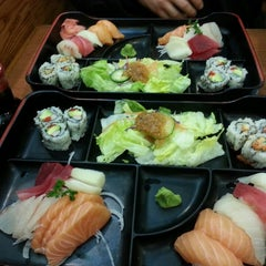 Photo taken at Sapporo Sushi by Winnie M. on 3/6/2014