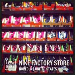 Photo taken at Nike Factory Store by Nisa R. on 2/2/2013